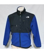 VTG The North Face TNF Denali Fleece Jacket Thick Coat 90s Ski Winter Bl... - $79.99