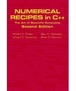 Numerical Recipes in C++: The Art of Scientific Computing Foundation Books - $83.94