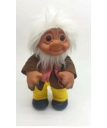 "Thomas Dam Doll Troll 1977 Denmark Made Grandpa 14"" Tall Large Collector... - $148.49"