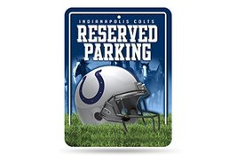 NFL Indianapolis Colts Hi-Res Metal Parking Sign - $6.92