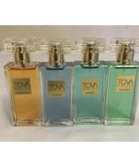 Lot Of 4 TOVA Perfume 1 oz GLASS SPRAY UNBOXED - $140.25