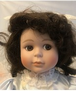 """Regal Doll 14"""" Porcelain And Felt Cloth With Stand - $14.03"""