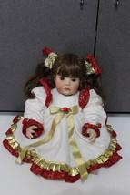 Rare Middleton Christmas Joy Beautiful little girl Marci Cohen Vinyl Dol... - $44.95