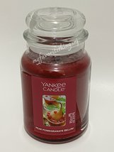Yankee Candle Pear Pomegranate Bellini Fragrance Scented Candle 22 oz - $30.00