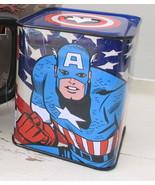 **Marvel Comics Captain America Tin Bank** NEW! Other Character Banks Av... - $5.93