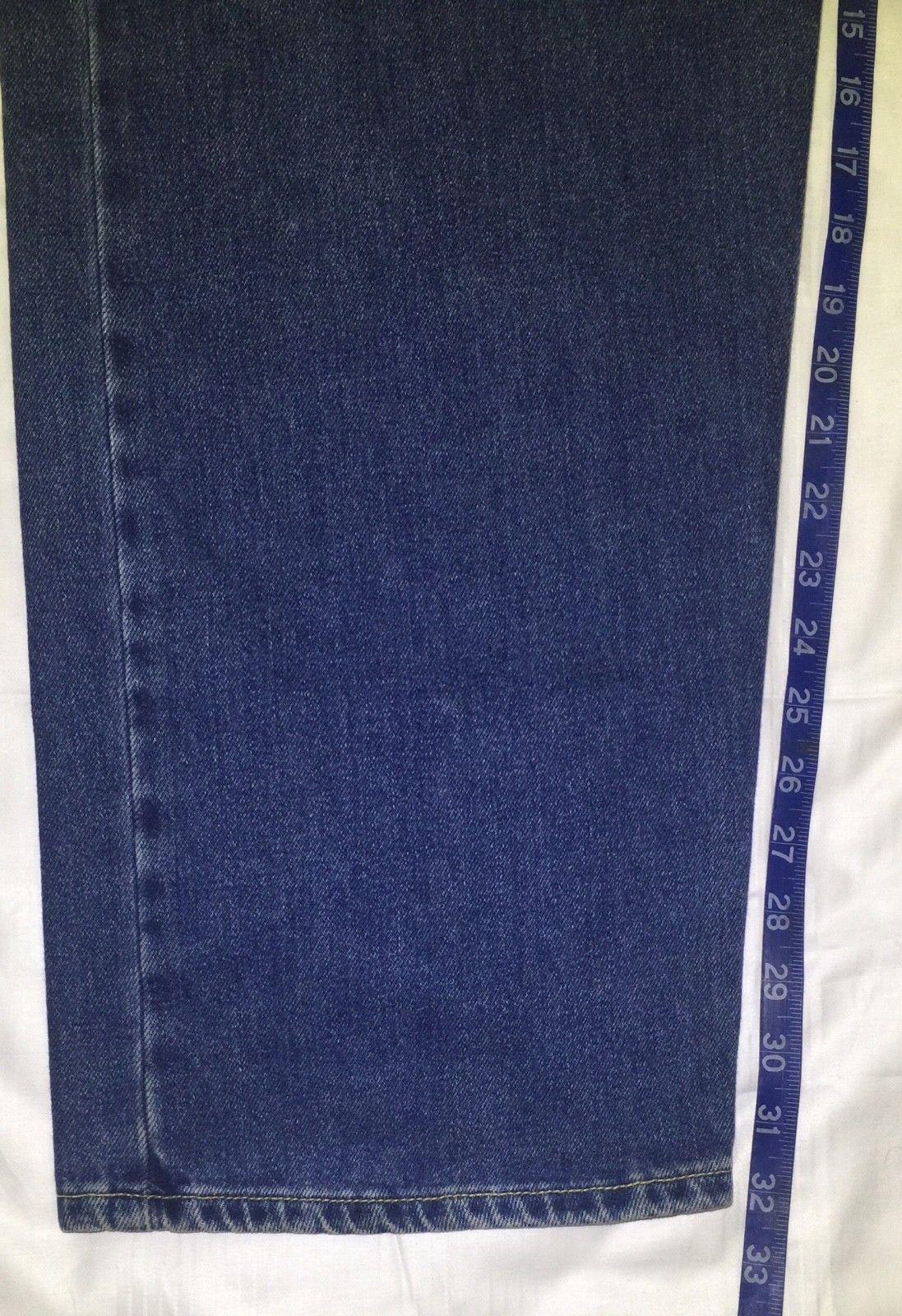 bee2fbaf Levis SilverTab Baggy Medium Wash Vintage 90s Denim Mens Jeans 34x32 EUC