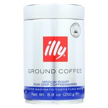 Illy Caffe Coffee Coffee - Drip - Ground - Medium Roast - 8.8 Oz - Case Of 6 - $105.97