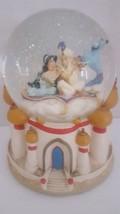 Disney Alladin Jasmine Snowglobe Musical A Whole New World - $54.44