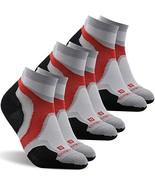 Outdoor Socks, ZEAL WOOD Men's No Show Running Socks,Low Cut Compression... - $38.54