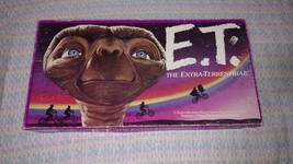 1982 E.T  The Extra-Terrestrial Board Game, - $10.00