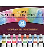 Studio Series Artist's Watercolor Paint Set (24 colors) [Hardcover] Inc.... - $17.99