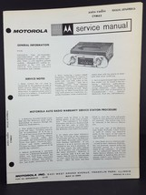Motorola 1962-63 Chevy II Auto Radio Service Manual Model CYM63 - $14.84