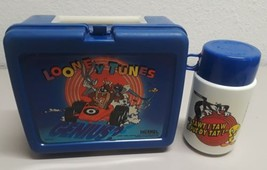 Vintage Thermos Plastic Lunchbox and Thermos Looney Tunes - $24.74