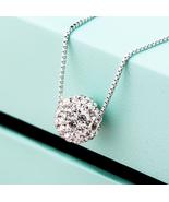 Fashion Women Sterling Silver Zircon Necklace - $15.99