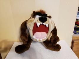"1996 ACE Tazmanian Devil Taz Plush Stuffed Animal Doll Looney Tunes 15"" - $14.99"