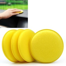 130 Pack - New Car Waxing Hand Soft Cleaning Sponge - Yellow - $43.20