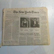 The New York Times March 25 1997 Oscar Winners McDormand Rush Gore Yelts... - $39.99