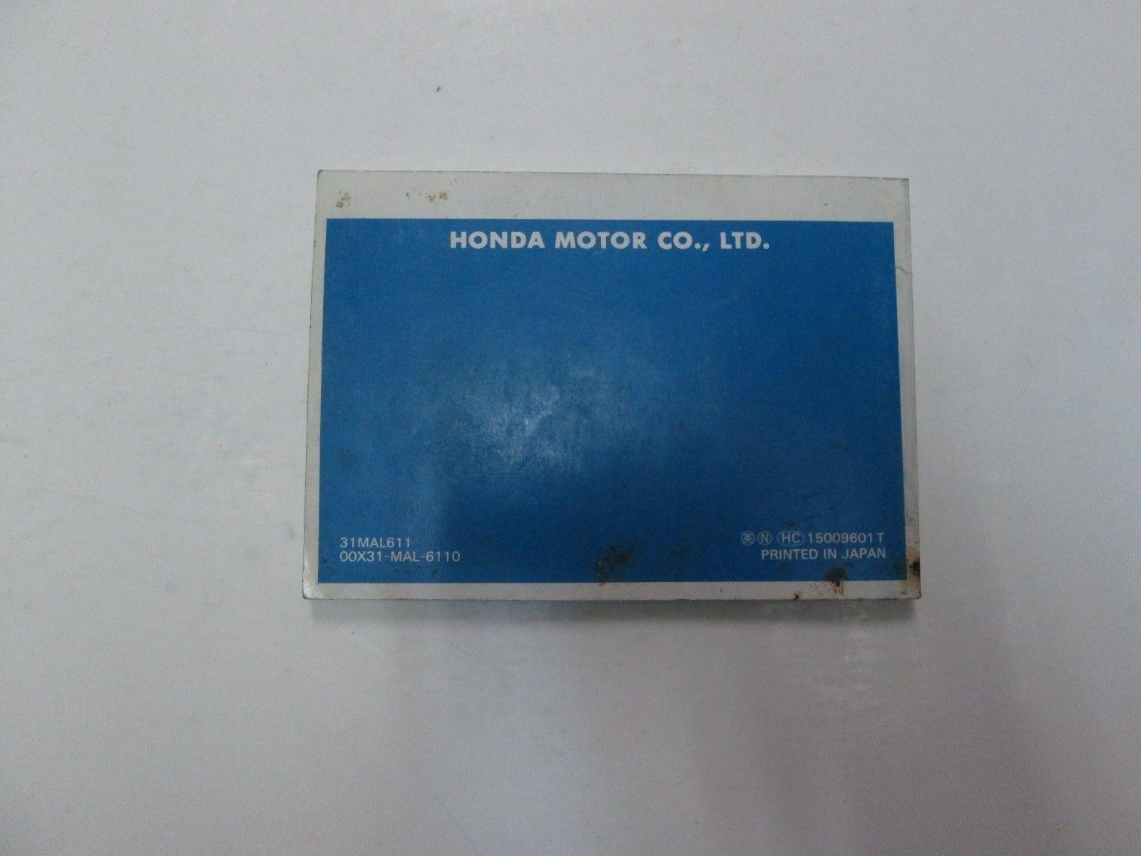 Q 1997 Honda Passport Service Repair Manual OEM Factory Dealer Workshop Set