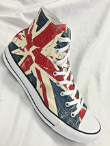 Men's  Converse British Flag Sneakers  - $150.00