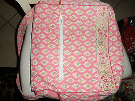 Peach/Pink baby diaper bag by Pomegranate image 3
