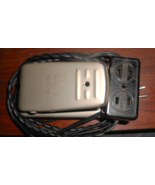 Tennglad Metal Foot Pedal Wired To Duplex Outlet (Motor/Light) & Male Pl... - $12.50