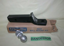 """Draw Tite Ball Mount Kit 2923 12"""" Long 2"""" Receiver For Up To 6000 Lb - $49.49"""