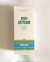 BRAND NEW ALCON EYE STREAM!! EYE WASH SOLUTION!! EXP 4/2017 - $29.02