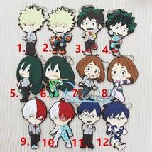 My Hero Academia Boku no Hero Akademia Keychain Rubber Strap Charm LY5 - $5.92+