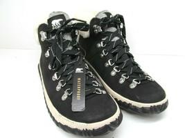 Sorel Out N About Plus Black Leather Waterproof Boots Women's 9.5 M EUC - $87.71