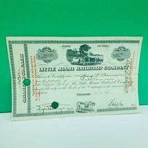 Railroad train company stock bond ephemera certificate 1933 ohio OH cinc... - $28.89