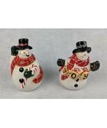 """Snowman Salt & Pepper Shakers 4"""" - $19.79"""