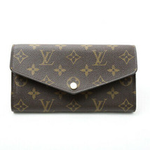 Louis Vuitton Portefeuille Victorine M62360 Used Excelelnt Brown From Japan - $502.08