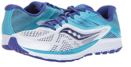 Saucony Ride 10 Size US 7 M (B) EU 38 Women's Running Shoes White Blue S10373-3
