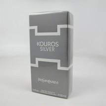 KOUROS SILVER by Yves Saint Laurent 50 ml/1.6 oz Eau de Toilette Spray NIB - $53.45