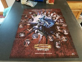 ORCS & GNOLLS  - Dungeons and Dragons Miniatures Original Poster  - $29.69