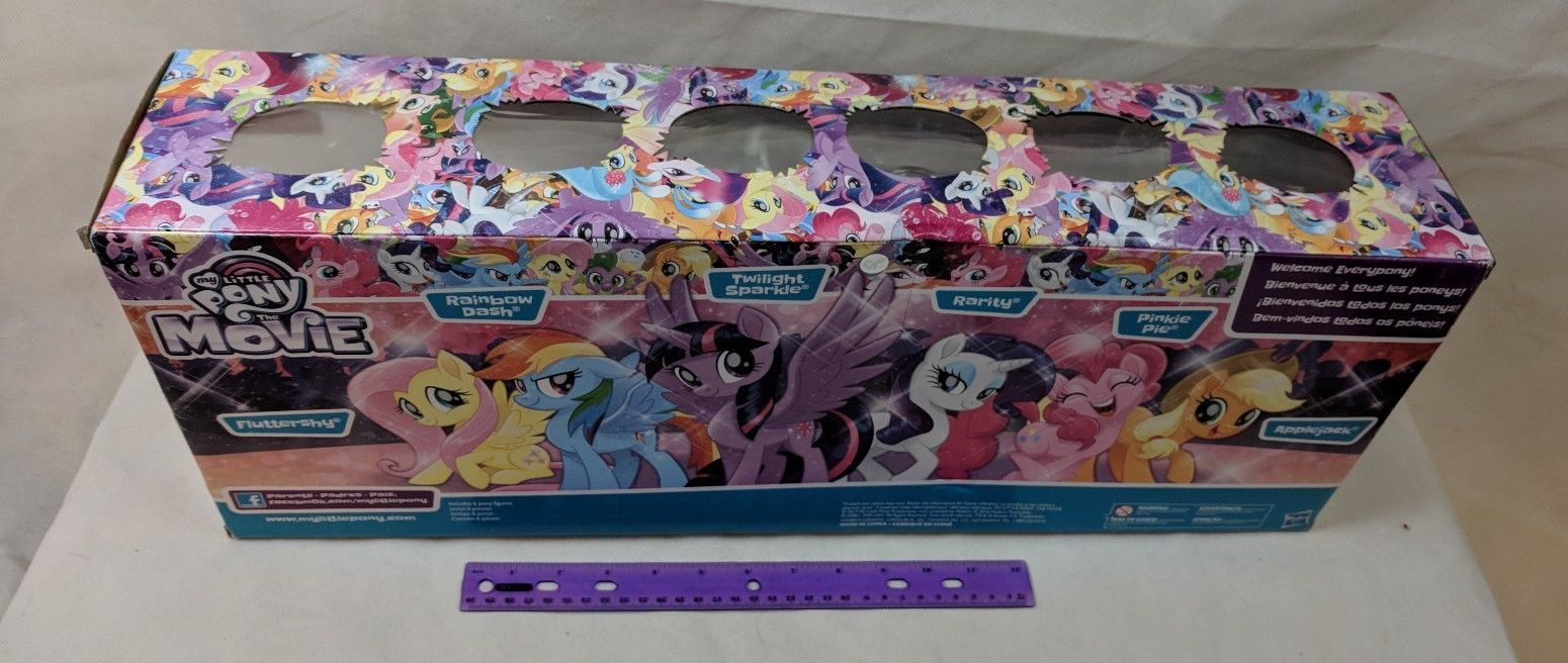 """My Little Pony Movie Magic of Everypony Mane 6-6"""" Collection Target Exclusive"""