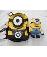 Minions Despicable Me  Despicable Me 2 Stuart Backpack Stuffed Toy Bundle - $19.99