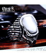 Beier new store 316L Stainless Steel ring top quality man movie style pr... - $10.76