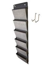 COMPONO Office Supplies Storage Organizer Includes 2 Over Door Hangers, ... - $22.82 CAD