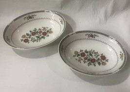 "Royal Doulton Kingswood Lot of 2 9 3/8"" Oval Serving Bowls Excellent Condition - $44.55"