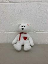 Beanie Baby Teenie Valentino the Bear TY 1993 - $1.06