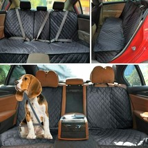 Pet Carrier Car Seat Cover Waterproof Rear Back Travel Mat Cushion Prote... - $35.57
