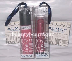 Almay Liquid Lip Balm Gloss 600 Blooming + Almay Butter Kiss Lipstick Be... - $7.91