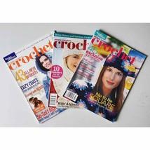 Simply Creative Crochet Magazines BH&G Premier Issue 2003 2004 2006 Lot ... - $15.99