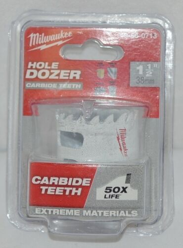 Milwaukee 49560713 Carbide Teeth Hole Dozer 1 One Half Inches