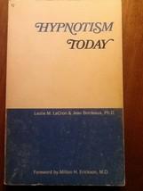 Hypnotism Today LeCron / Bordeaux USED Paperback Book - $3.96