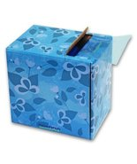 "Adenna BFM123B Blue Barrier Film 4"" x 6"" (1,500 Sheets per Roll) - $14.36"