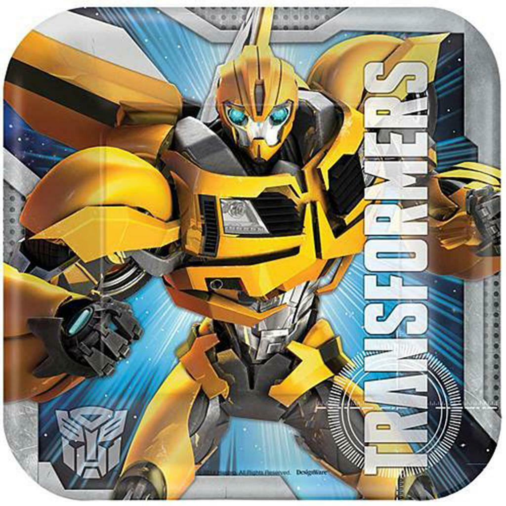 Primary image for Transformers 4 Core Dessert Plates 8 Per Package Birthday Party Supplies Amscan