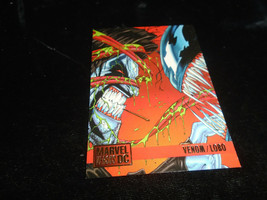 1995 DC Versus Marvel Fleer SkyBox Card #65 Venom Vs. Lobo - $1.49