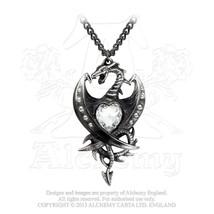 Diamond Heart Pendant by Alchemy Gothic - $49.95